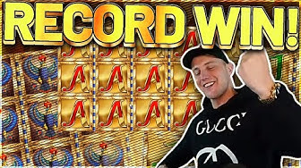 RECORD WIN! Legacy Of Dead Big win - MEGA WIN on Casino Games from Casinodaddy LIVE STREAM