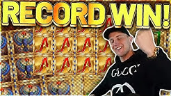 RECORD WIN! Legacy Of Dead Big win - MEGA WIN on Casino Games from Casinodaddy LIVE STREAM