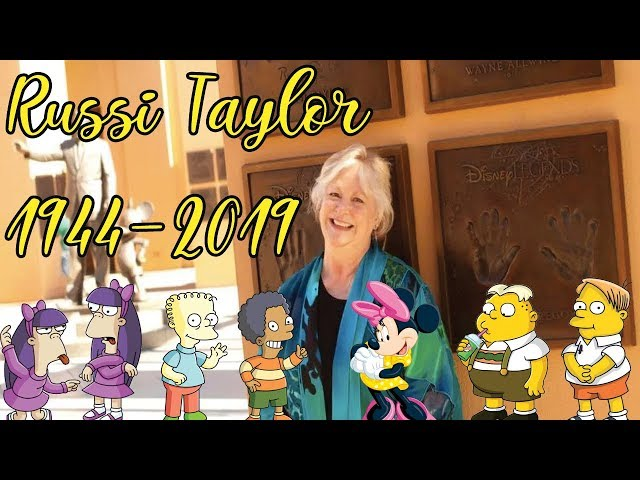 Russi Taylor and her many voices.  You will be missed.