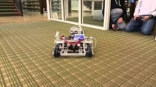First Appalachian Robotics - 2015/2016 Robot Platform First Trial