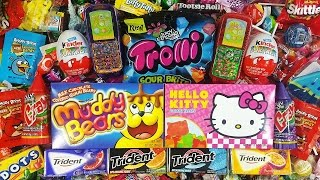Oui Oui Nursery Rhyme with A lot of Candy Hello Kitty LEARN COLORS with Candy