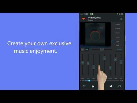 Equalizer android Music Player