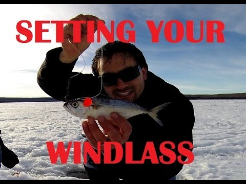 How To Set A Windlass Tip Up And Quick Strike Rig For Northern Pike