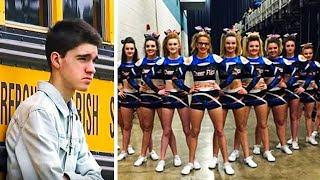 Teen Gets Rejected Before Prom And Laughed At, Then 13 Girls Stand In Front Of Him