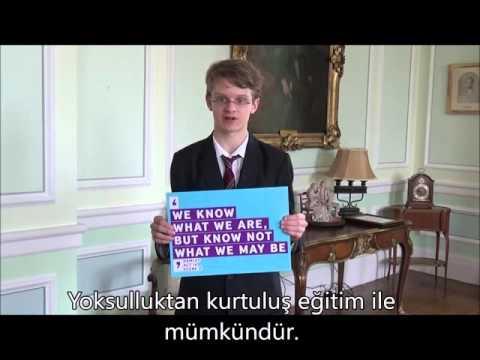 British Embassy School Ankara öğrencileri #ShakespeareLives kampanyasına destek veriyor 3/6