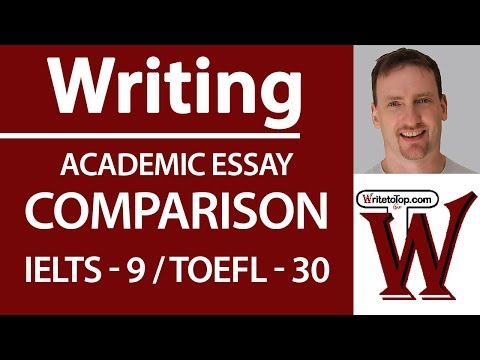 toefl comparison essay