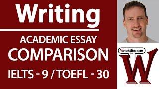 IELTS 9 TOEFL 30 Full Essay: Compare