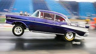 to hell and back sinister 57 chevy gasser street legal wheelstander