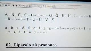 Primer clase de #Esperanto