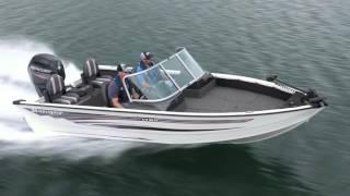 Ranger Aluminum VS1780 On Water Footage
