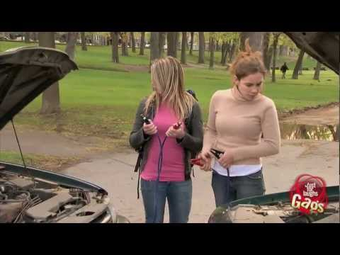 Girl Mechanic Prank