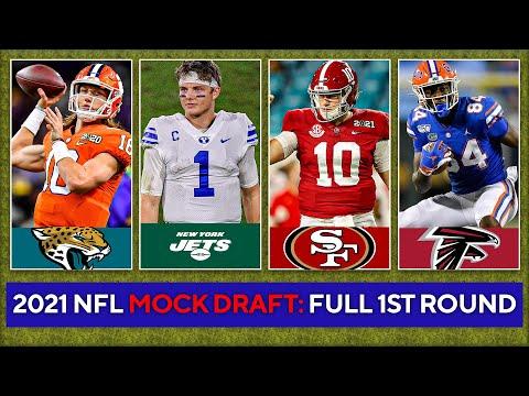 2021 NFL Mock Draft: FULL 1st Round [Zach Wilson, Justin Fields, Mac Jones] | CBS Sports HQ