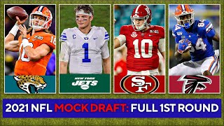 2021 NFL Mock Draft: FULL 1st Round [Zach Wilson, Justin Fields, Mac Jones] | CBS Sports HQ
