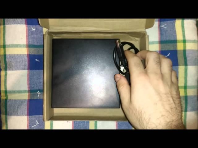 פתיחת קופסא-blu ray burner