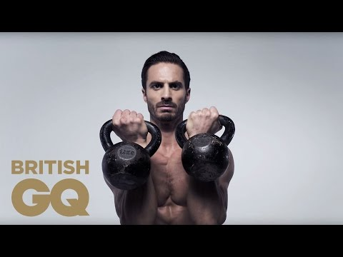 Core Exercise: Kettlebell Thrusters | Fitness | British GQ