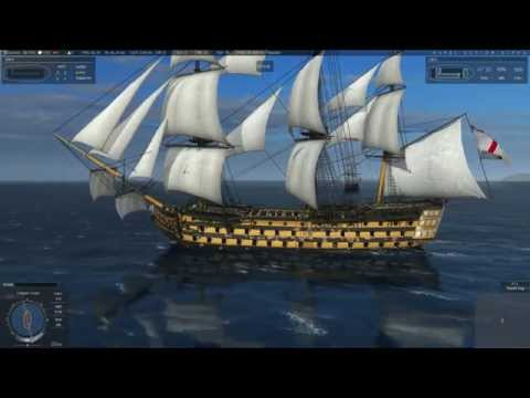 Naval Action Trafalgar Battle (42 Players)
