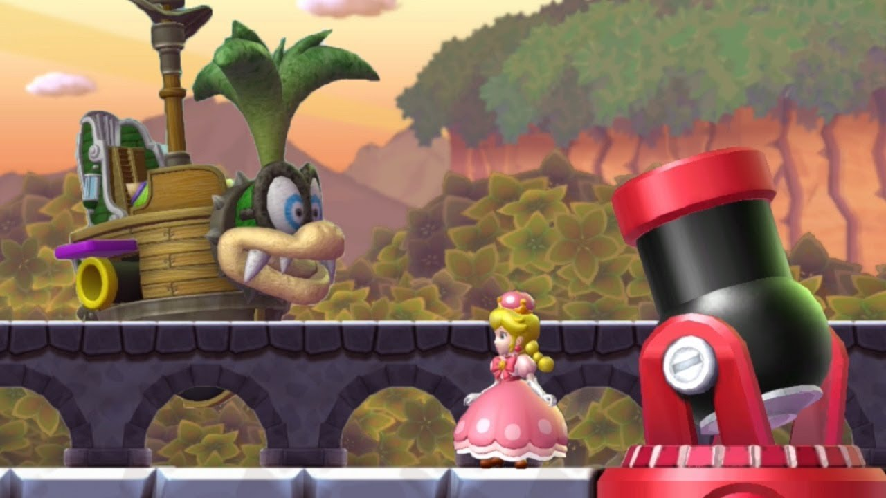 New Super Mario Bros U Deluxe Walkthrough Part 5 Soda Jungle