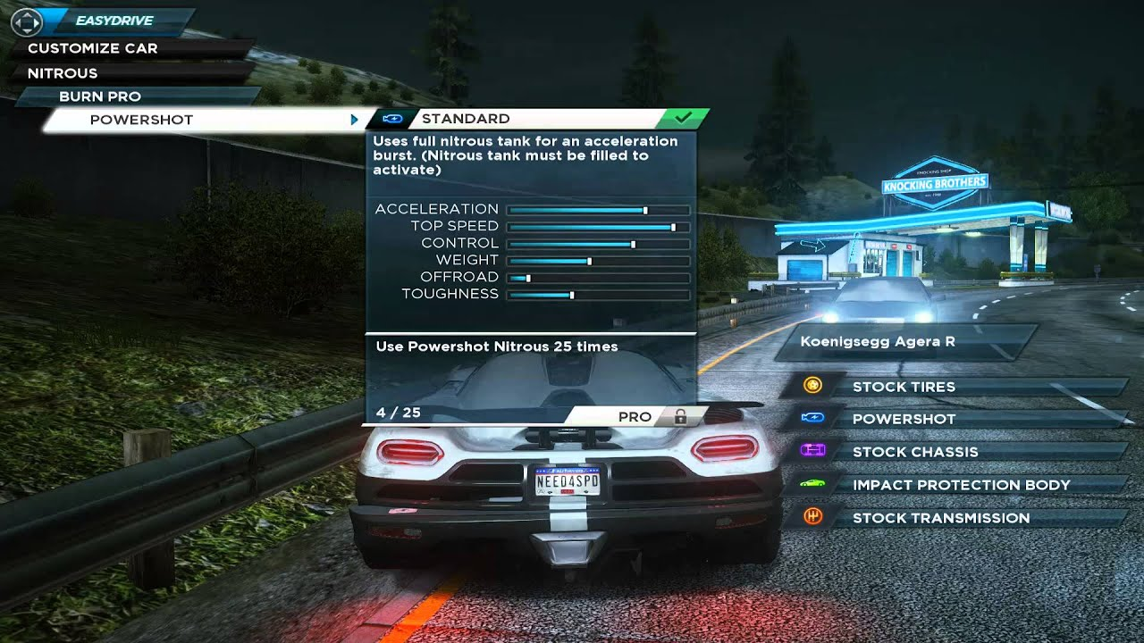 Need For Speed Most Wanted  Fastest Car