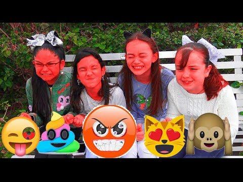 Imitando Emojis y Juegos Super Divertidos !