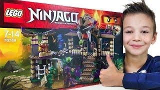 LEGO NINjAGO 70749 Храм клана Анакондрай открываем и собираем конструктор. Masters of Spinjitzu