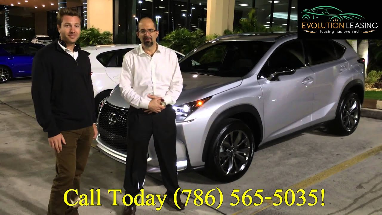 Lexus Lease Specials Lexus NXT F Sport Delivery Evolution - Lexus miami lease