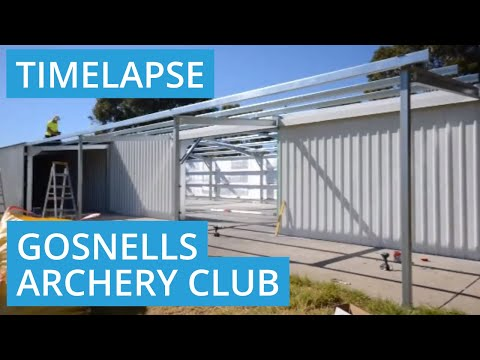 Gosnells Archery Club Shed Construction in Perth, Western Australia 6110