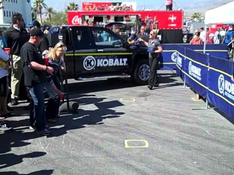 Kobalt Tools Display At Las Vegas Motor Speedway Youtube