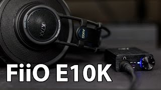 fiiO E10K USB DAC Review  BEST VALUE DAC UNDER 100?