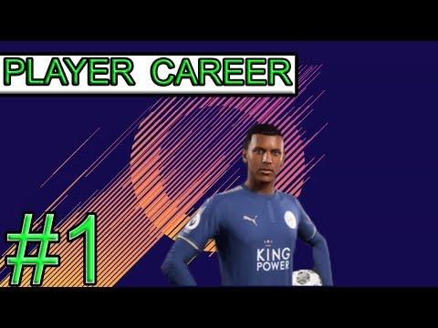 FIFA 18 Player Career Season 1 Episode 1 LEICESTER CITY