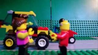 Lego aanval van de draak