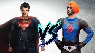 Superman vs SuperSingh - Who would win in a Fight???