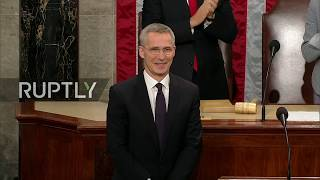 LIVE: NATO Secretary General J.Stoltenberg speaks at a Joint Meeting of the House of Rep. & Sen.