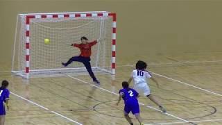 20191215福岡県高校新人ハンドボール(女子)準々決勝 筑紫女学園vs香椎(後半)