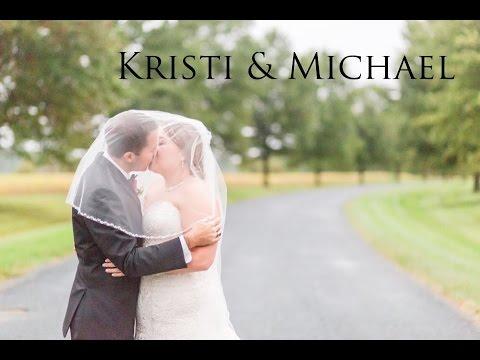 Kristi and Michael Wedding Film | Historic Kent Manor Inn | Stevensville MD