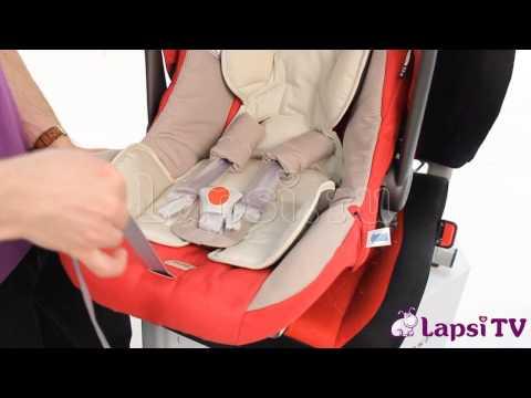 Детское автокресло Inglesina Huggy Multifix (0-13 кг)
