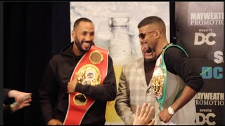 RESPECT LEVELS!! - JAMES DeGALE COMES FACE TO FACE WITH BADOU JACK IN WASHINGTON DC