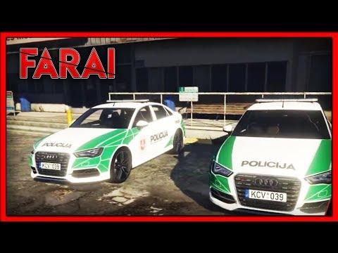 GTA - FARAI 43 [LT] - MANE PAGROBĖ?! (Policija)