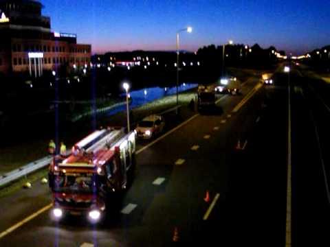 Ernstig ongeval op de A7 in Wognum