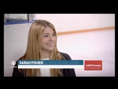 Sarah Fisher And Riley Allison On CBC News