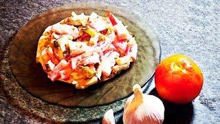 Любимый салат моего мужа | Рецепт за 5 МИНУТ | А-ля