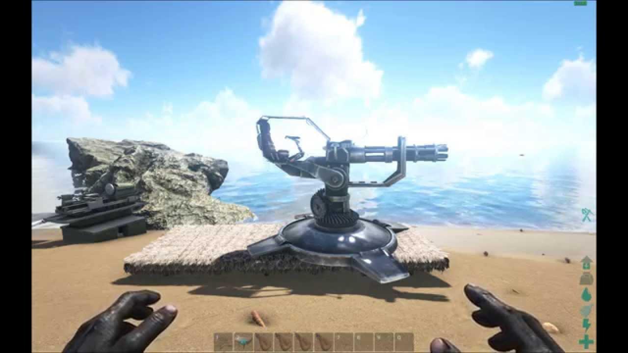 ark machine gun