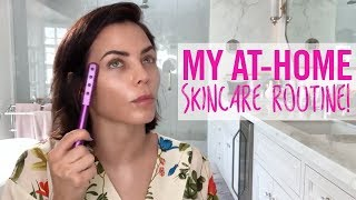My At-Home Skincare Routine! | Jenna Dewan