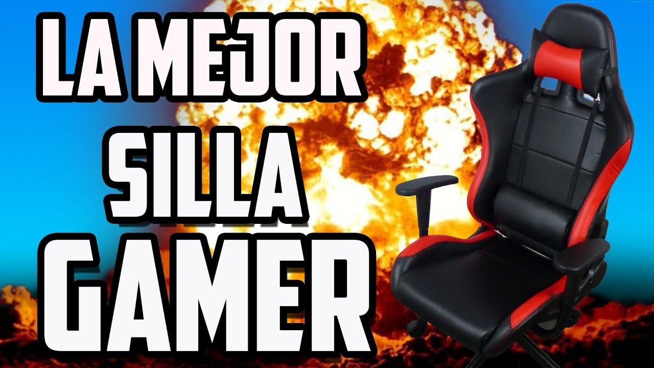 La mejor silla gamer que existe la soluci n a todos tus for Sillas de ordenador gamer