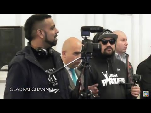 Kugan from IFLTV questions Joseph Parker whether his promoter Higgins had been drinking