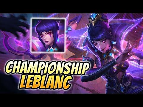 🏆 ¡CARREAMOS UN 4V5 CON LA NUEVA SKIN DE LEBLANC DE CAMPEONATO! 🏆 Championship LeBlanc Mid Gameplay