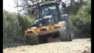 KWR Plant Hire Farm track / road crushing heavy plant