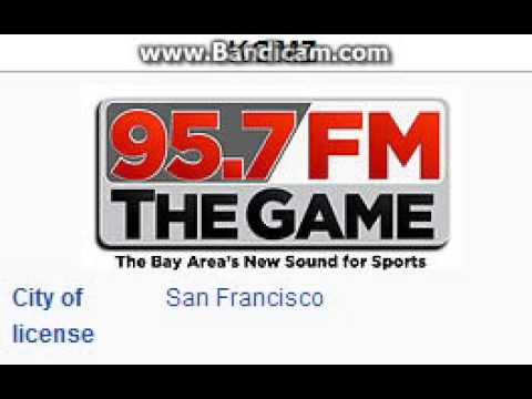KGMZ 95.7 The Game San Francisco, CA TOTH ID at 11:00 a.m. 7/13/2014