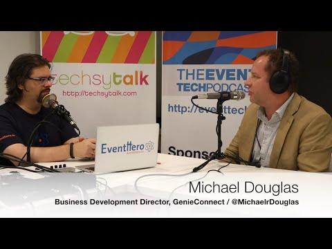 The #EventTech Podcast: Michael Douglas, Business Development Director, GenieConnect