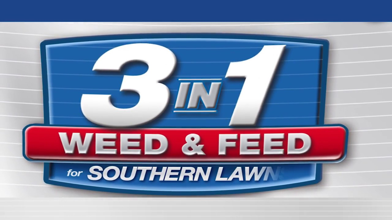 Bioadvanced 3 In 1 Weed Feed For Southern Lawns How To Apply Youtube