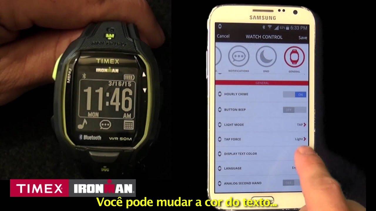 1c146080d81 Como usar seu Relógio Timex Run x50 - YouTube